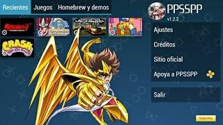 Demostración de juegos PSP varios géneros + Mega Descarga 2016