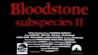Bloodstone: Subspecies II (first alternative trailer)