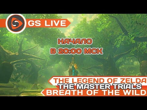 The Legend of Zelda: Breath of the Wild. The Master Trials DLC. Стрим GS LIVE