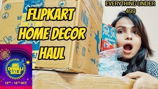 flipkart home decor haul l everything under 499/- l diwali gift,home decore l Flipkart diwali sale l