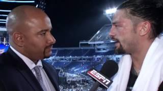 Roman Reigns Calls Win Over The Undertaker A Loss | ESPN