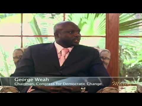 George Weah Interview (We didn't Accumulated the votes)