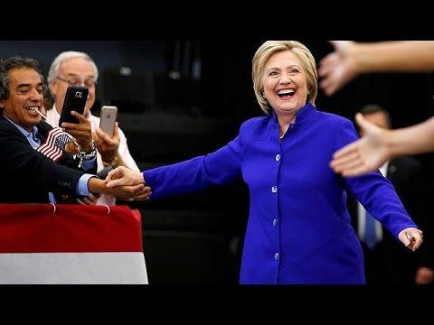 La presse américaine annonce la victoire finale d'Hillary Clinton