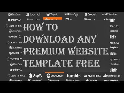 Top 2 Sites Where You Can Download Any Premium Website Template Free (Nov 2017)
