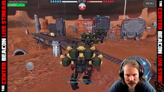 War Robots - The Center Beacon Live Stream! Squadding w/ Viewers!