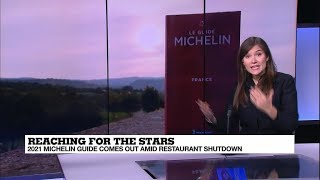 France's 2021 Michelin Guide released despite Covid-19 restaurant shutdown