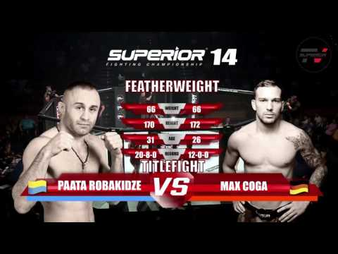Superior FC - Fight 8 - Titelkampf Im Federgewicht Coga VS Robakidze