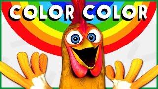 COLOR COLOR #2 | Animales de La Granja de Zenón | A Jugar