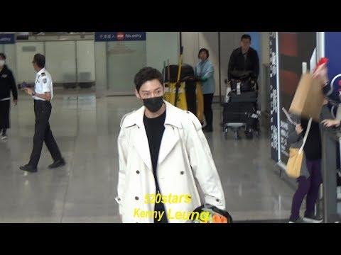 崔振赫Choi Jin Hyuk(최진혁) Arrived Hong Kong Airport 20190325