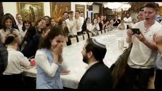 Surprise Marriage Proposal During Havdalah!