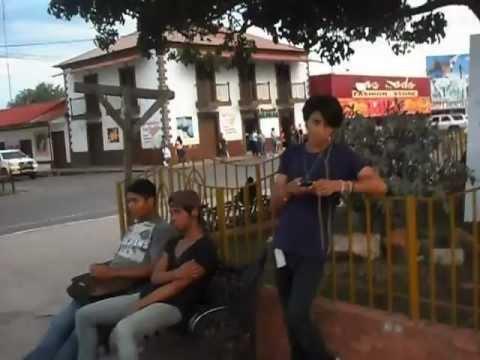 AguasDulces, Panama walk thru town square
