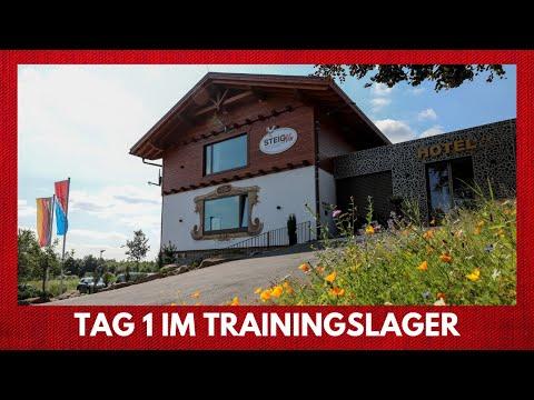 Der Start ins Trainingslager