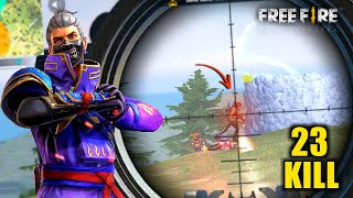 2 AWM Amazing Solo vs Squad Ajjubhai94 OverPower Gameplay - Garena Free Fire