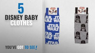 Top 10 Disney Baby Clothes [2018]: Star wars socks size 6-11 euro 39-45 (2 pack) designs may vary