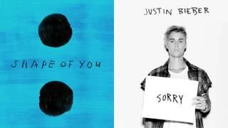 Shape of You / Sorry |MASHUP| Ed Sheeran & Justin Bieber (Original)