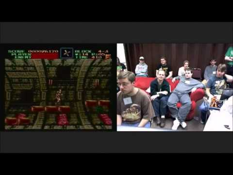 Super Castlevania IV (Any%) by Funkdoc in 37:42 - AGDQ 2011