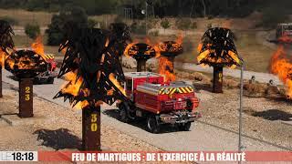 Feu de Martigues : l'autoprotection, ce dispositif qui a sauvé les sapeurs-pompiers