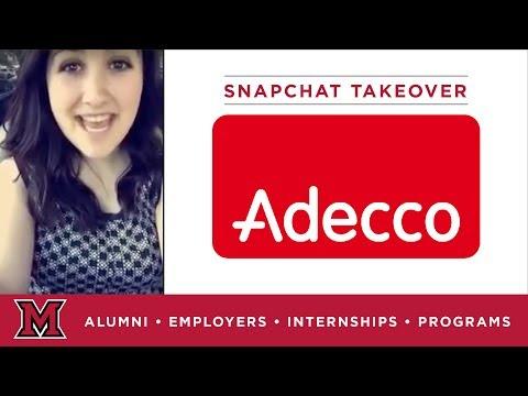 Kathryn's Marketing Internship for Adecco in Jacksonville, FL