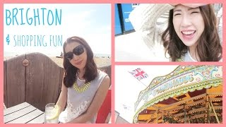 BRIGHTON AND NON-STOP SHOPPING ・陪我去布賴頓 | BethniVlogs