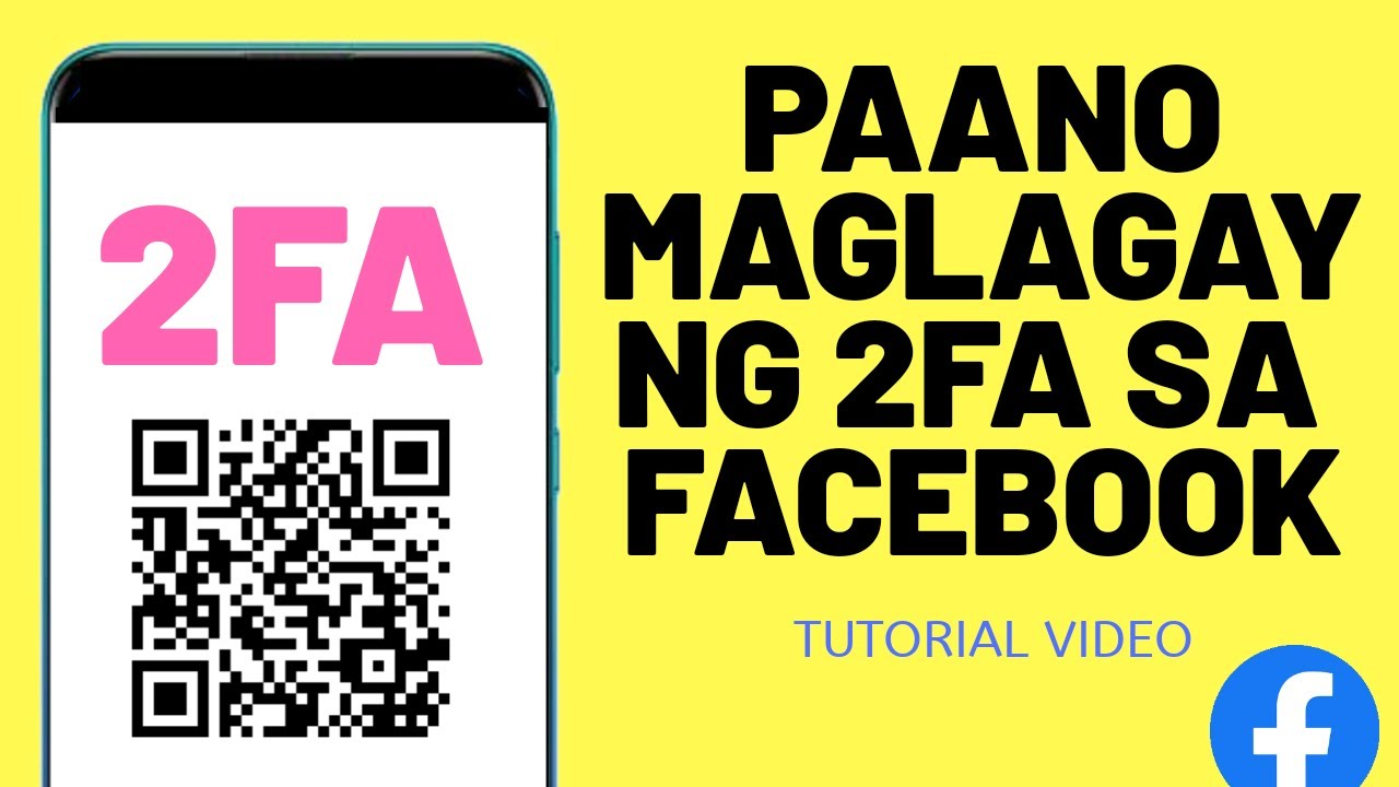 Paano maglagay ng 2FA sa Facebook account?
