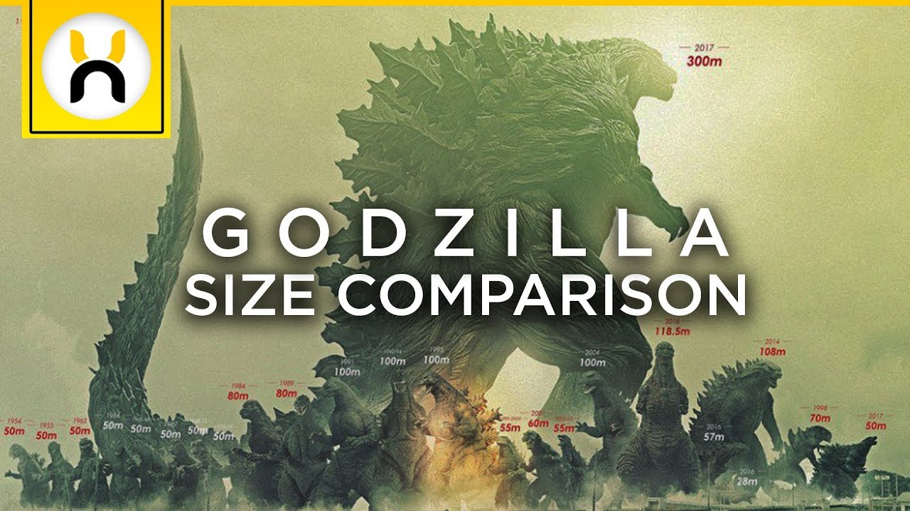 Godzilla Earth Is Massive Godzilla Size Comparisons
