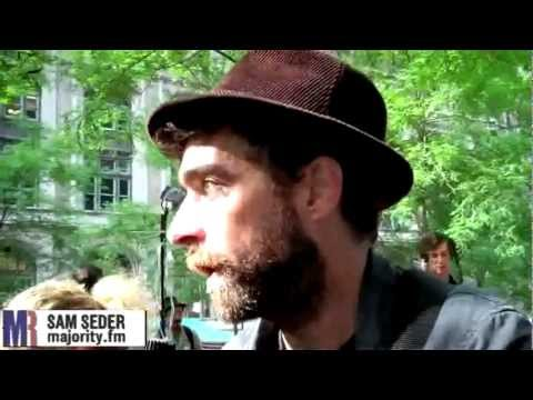 LIVE at Occupy Wall Street: Interviewing the Occupiers