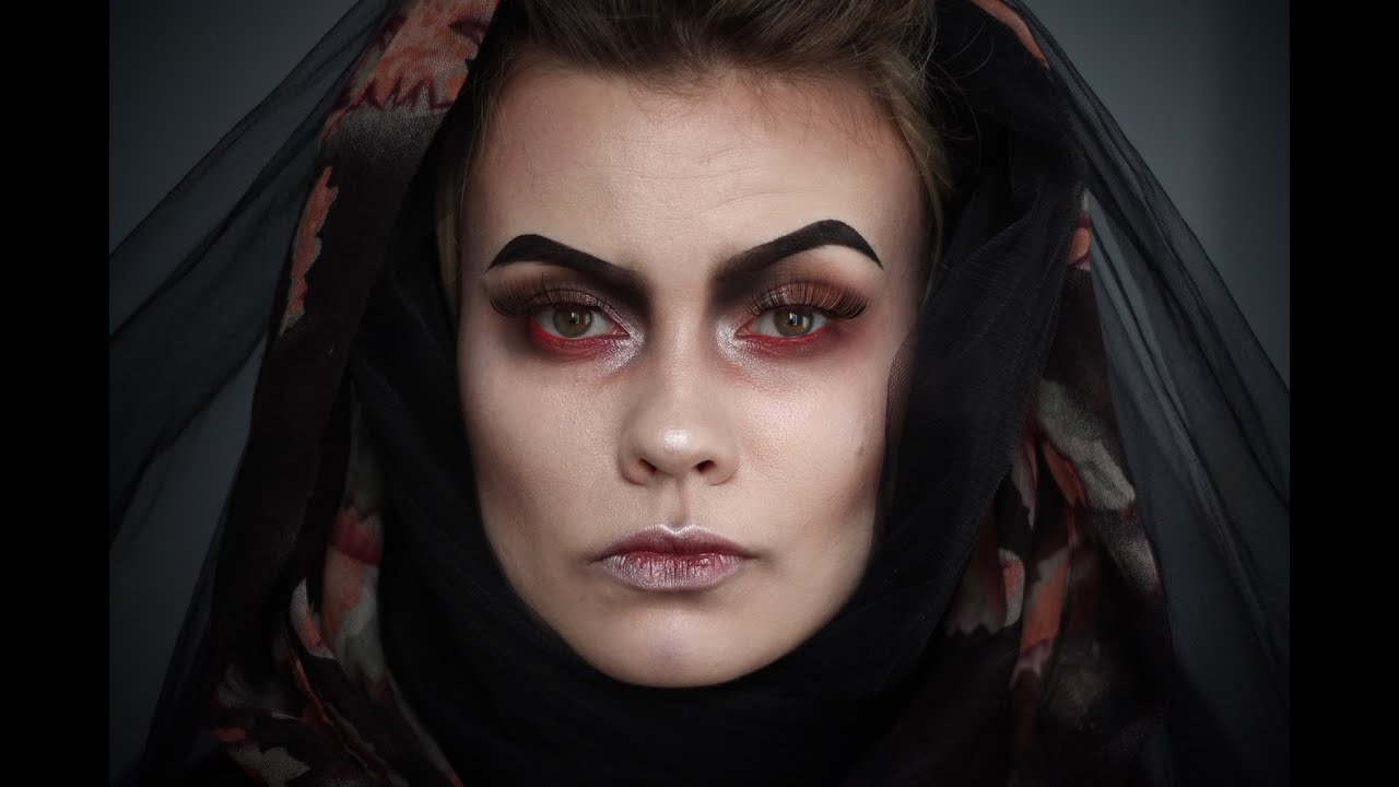 Gothic Witch Makeup Tutorial - YouTube