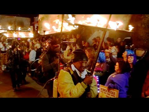 The MYSTERY AND MAGIC of Mardi Gras' FLAMBEAUX