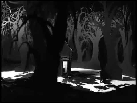 Creepy Haunted House In A Dark Forest Stop Motion Animation