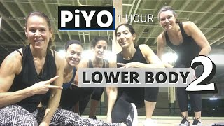 LEGS 1 HOUR PiYO Lower Body #2 Workout | At Home No EQUIP | Killer Leg Workout | Cardio Strength
