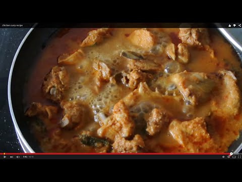 Tasty Weight Loss Recipe (Oil-free Chicken Curry Recipe)