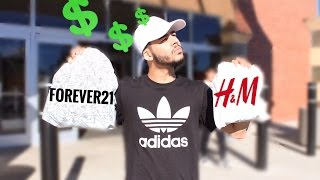 THE $100 CHALLENGE (H&M VS FOREVER21)