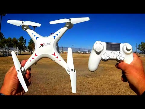SJRC X300-1C Camera Drone Flight Test Review - YouTube
