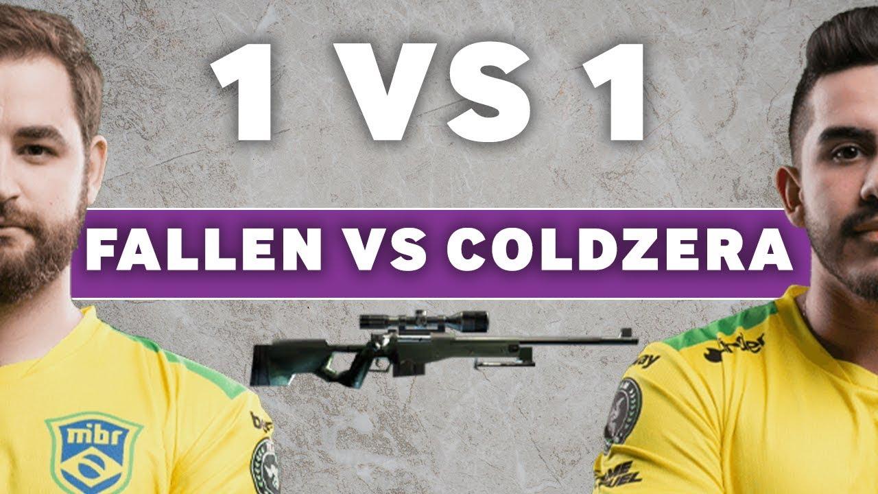 MIBR FalleN v Coldzera - CS:GO AWP 1vs1 Videosu