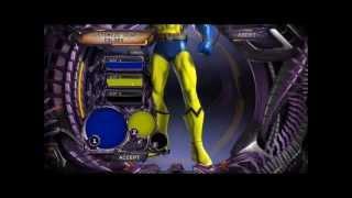 DC Universe Online - comics Wolverine character creation / tworzenie komiksowego Wolverine'a