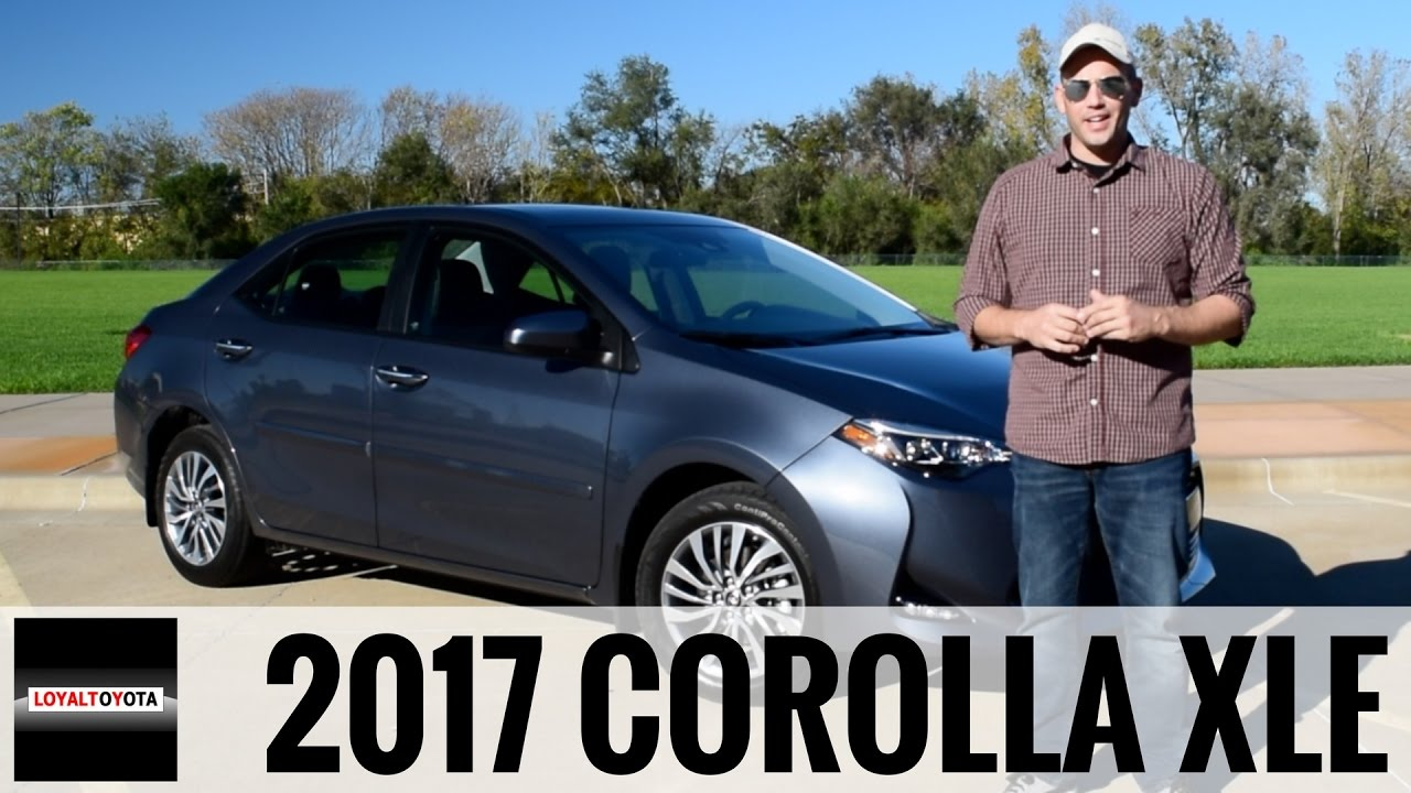 2017 toyota corolla xle loyaldriven youtube. Black Bedroom Furniture Sets. Home Design Ideas