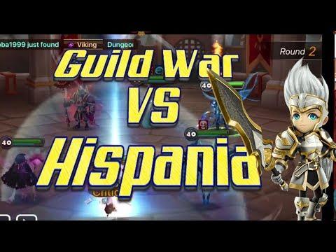 Summoners War Guild War VS Hispania EU Server (بالعربي)