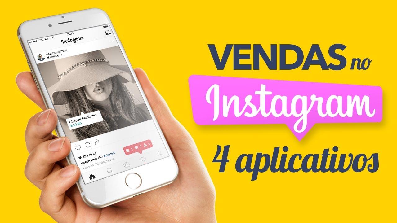 044d04bd3 Vender pelo Instagram - 4 Aplicativos PROFISSIONAIS - YouTube