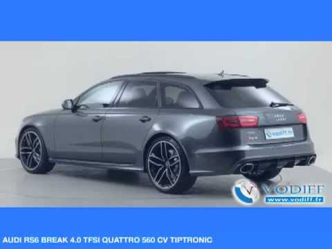 vodiff audi occasion alsace audi rs6 break 4 0 tfsi quattro 560 cv tiptronic youtube. Black Bedroom Furniture Sets. Home Design Ideas