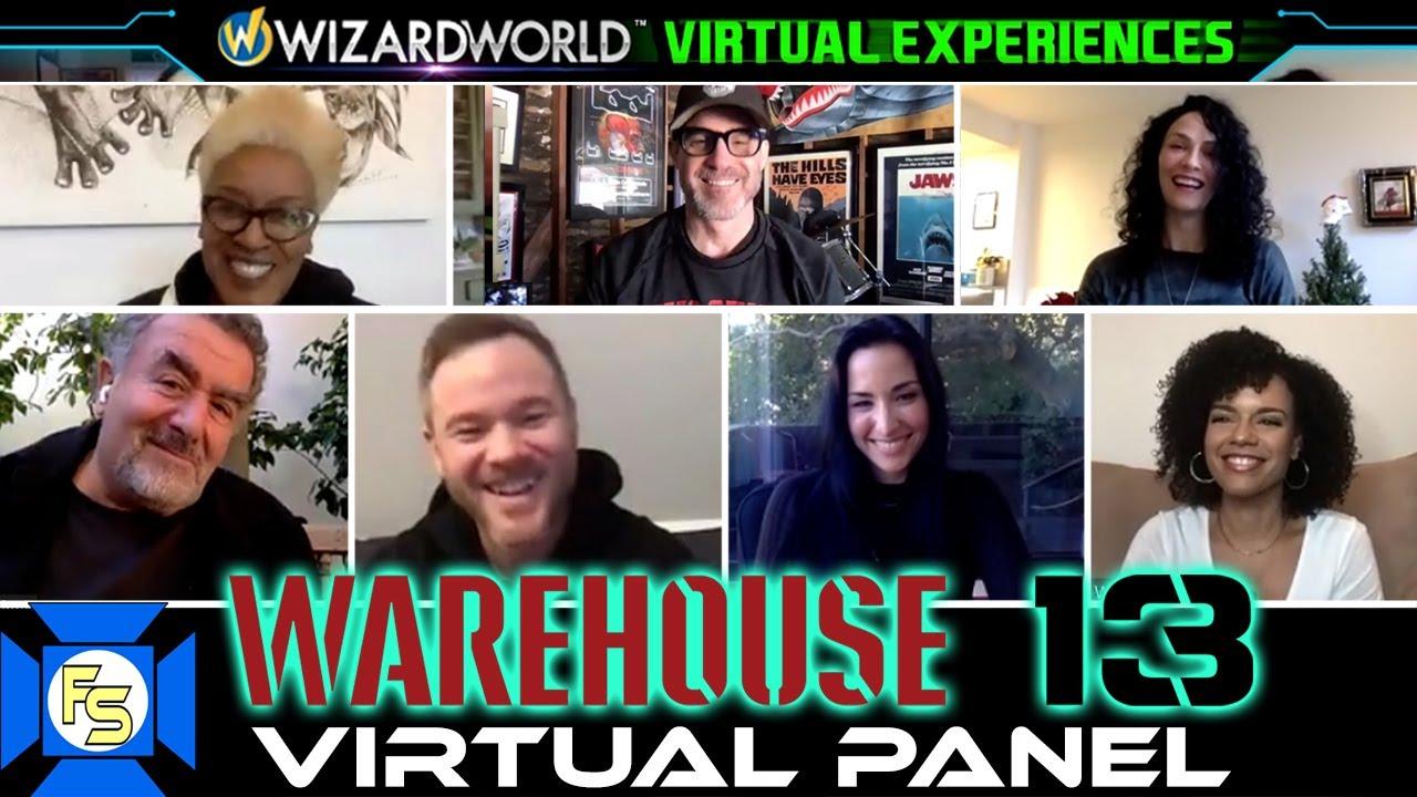 Download WAREHOUSE 13 Reunion Panel - Wizard World Virtual Experiences 2020