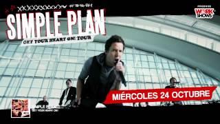 Simple Plan Por Primera Vez @ Lima Perú- 24 de Octubre