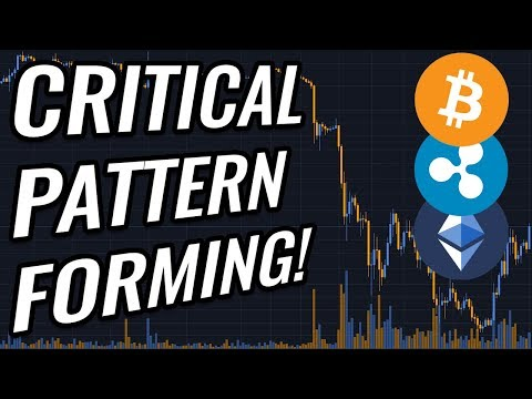 ALERT: Critical Pattern Forming In Bitcoin & Crypto Markets! BTC, ETH, XRP & Cryptocurrency News!