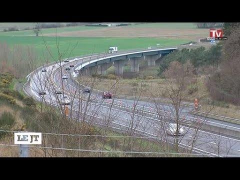 A85: les viaducs bientôt à deux voies