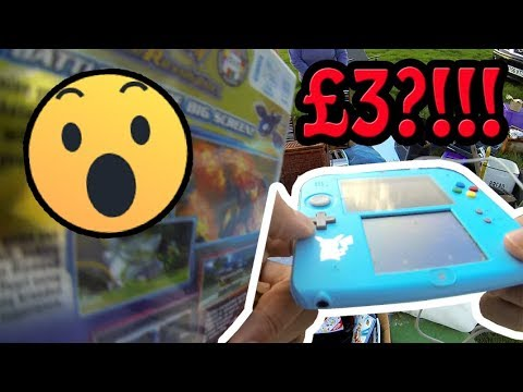 Car Boot Live Game Hunting Ep71 - 2DS £3?!!! 😮