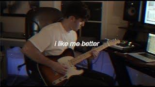 lauv - i like me better (lyric video)