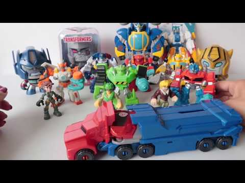 Juguetes de Transformers Bumblebee Optimus Prime Playskool Mighty Muggs #kidsplacetown