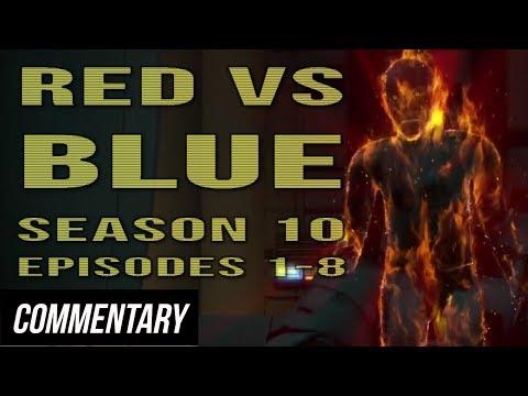 [Blind Reaction] Red vs. Blue - Season 10...