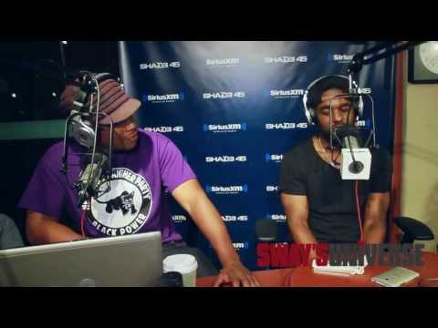 """Luke James Sings """"I Want You"""" over the """"Nas is Like"""" Beat on Sway in the Morning"""