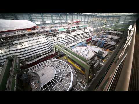 Quantum of the Seas - Construction, Meyer Werft Broll