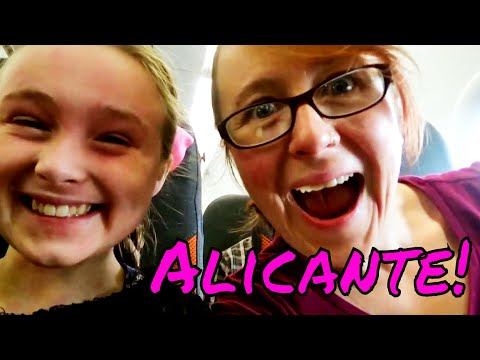 Imo and Izzy Travel to Alicante, Spain - Part 1 🚌🛫